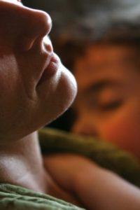 mother and child sleep